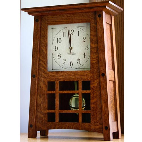mccoy mantle clock small